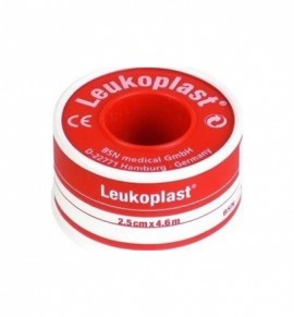 BSN Medical Leukoplast Ύφασμα Καφέ 2,5cm x 4,6m