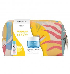 Vichy Promo Aqualia Thermal Rehydrating Legere Cream 50ml & Purete Thermale Mineral Micellar Water (Sensitive Skin) 100ml