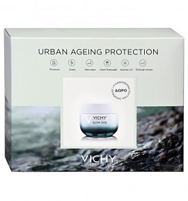 Vichy Slow Age SPF30 50ml & Mineral 89 5ml & Double Glow Peel Mask 15ml & Slow Age Night Cream 7x2ml