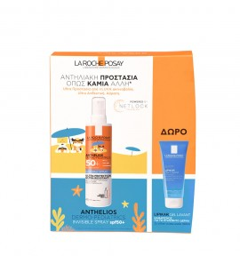 La Roche Posay Promo Anthelios Dermo-Pediatrics Invisible Spray SPF50+ 200ml + Δώρο Lipikar Gel Lavant 100ml