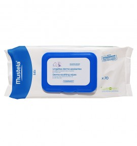 Mustela Derm-Soothing Wipes 70τμχ