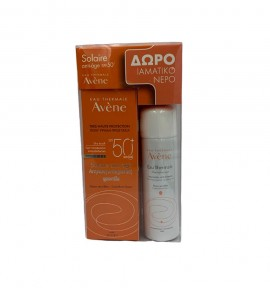 Avene Anti-Age Dry Touch SPF 50+ 50ml + ΔΩΡΟ Eau Thermale Spray 50ml