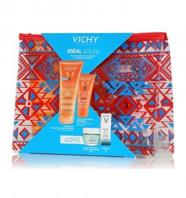 Vichy Ideal Soleil Wet Skin Γαλάκτωμα-Gel SPF50 200ml & Dry Touch BB SPF50 50ml & Quenching Mineral Mask 15ml & Mineral 89 5ml