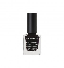 Korres Gel Effect Nail Colour 76 Smokey Plum 11ml