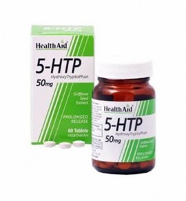 Health Aid L-5 Hydroxytryptophan 50mg 60 tabs