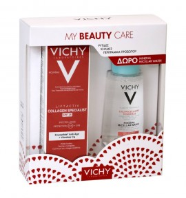 Vichy Promo Liftactiv Collagen Specialist SPF25 50ml & Purete Thermale Mineral Micellar Water (Sensitive Skin) 100ml
