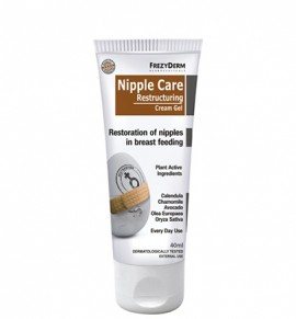 Frezyderm Nipple Care Restructuring Cream Gel, 40ml