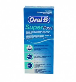 Oral-B Super Floss 50 pcs
