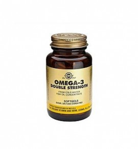 Solgar Omega-3 Double Strength softgels 60s