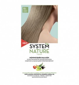 System Nature 8.1 Ξανθό Ανοιχτό Σαντρέ 60ml