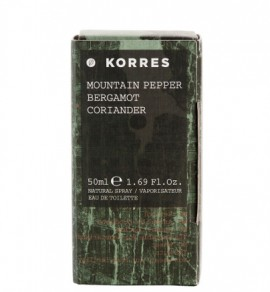 Korres Mountain Pepper/ Bergamot/ Coriander/ 50 ml