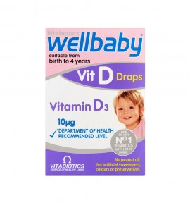 Vitabiotics Wellbaby Vit D Drops 10mg 30ml