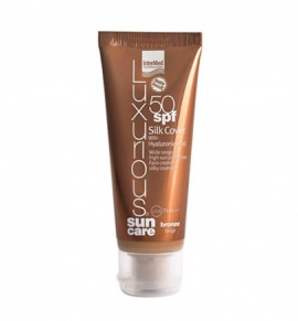 Luxurious Sun Care Silk Cover Bronze Beige with Hyaluronic acid Spf50, 75ml