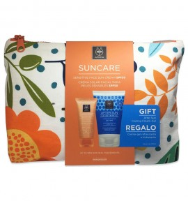 Apivita Suncare Sensitive Face Cream SPF50 50ml & ΔΩΡΟ After Sun 100ml
