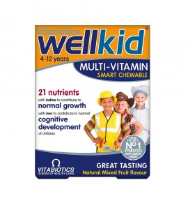 Vitabiotics Wellkid (μασώμενο) 30tabs