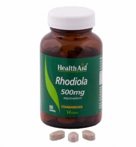 Health Aid Rhodiola Root Extract 500mg 60 tabs