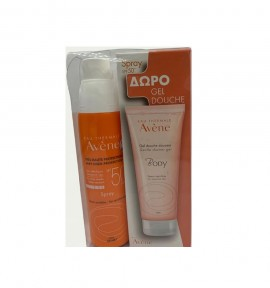 Avene Sunscreen Spray SPF 50 200ML + ΔΩΡΟ Body Gel Douceur 100ml