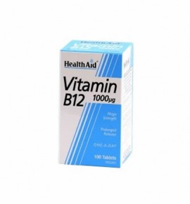 Health Aid Vitamin B12 1000μg Prolonged Release 50tabs