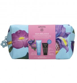 Apivita Aqua Beelicious Oil-Free Hydrating Gel-Cream 40ml & Δώρο Black Detox Cleansing Jelly Face & Eyes 50ml