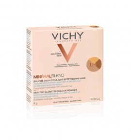Vichy MineralBlend Healthy Glow Tri-Color Powder Tan 9g