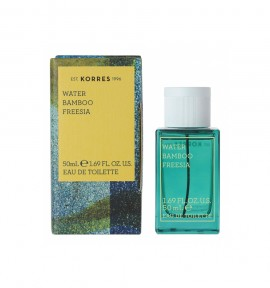 Korres Eau De Toilette Water/ Bamboo/ Freesia 50ml