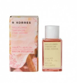 Korres Eau De Toilette Bellflower,tangerine,pink pepper 50ml