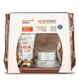 Panthenol Extra Sun Care Color SPF30 50ml & Panthenol Extra Night Cream 50ml