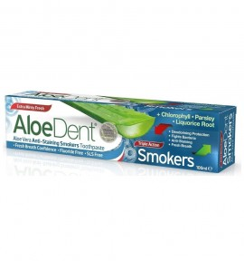 Aloe Dent Triple Action Smokers Toothpaste 100ml