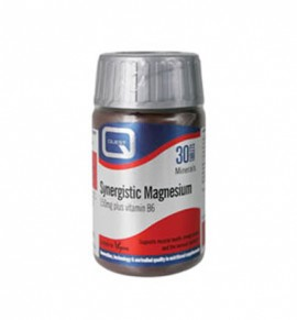 Quest Vitamins Synergistic Magnesium 150mg with vitamin B6, 60s