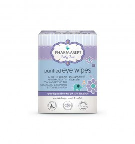 Pharmasept Baby Purified Eye Wipes 10τμχ