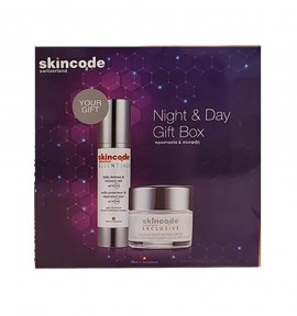 Skincode Cellular Night Refine & Repair 50ml + Essentials Daily Defense & Recovery Veil SPF30 50ml